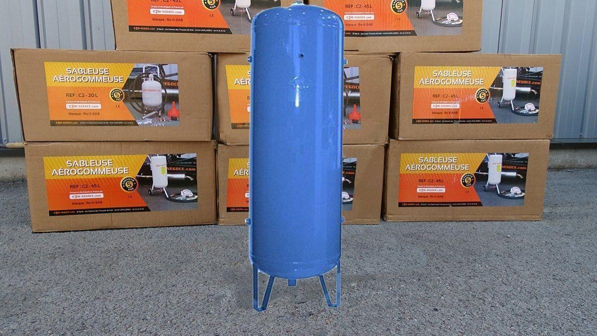 Réservoir d'air vertical