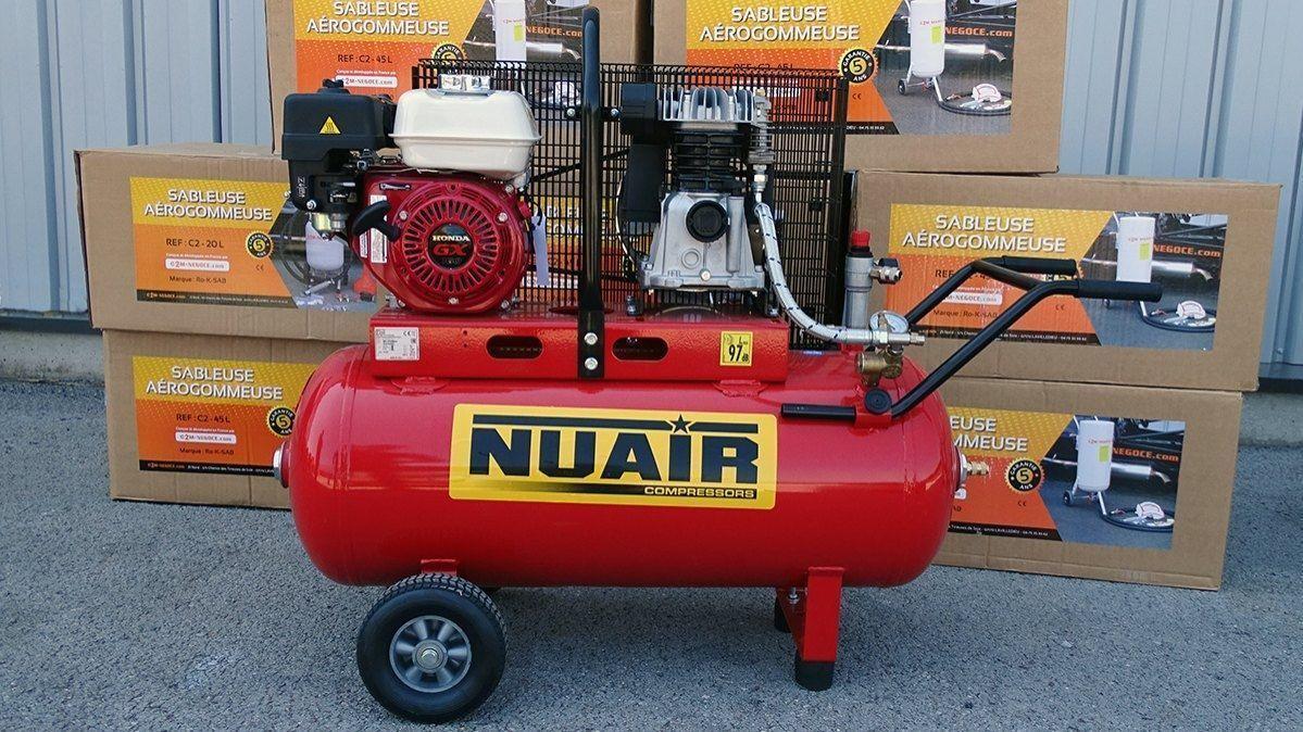 Compresseur 5,5cv Thermique à pistons
