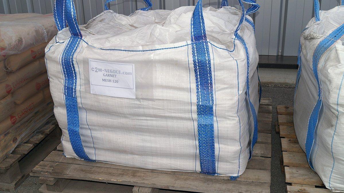 40 sac de 120 mesh garnet